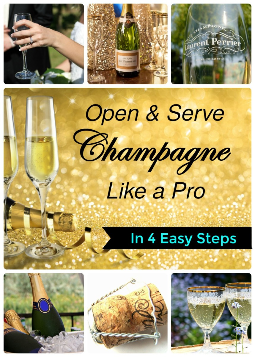 Learn how to serve bubbly like an expert!