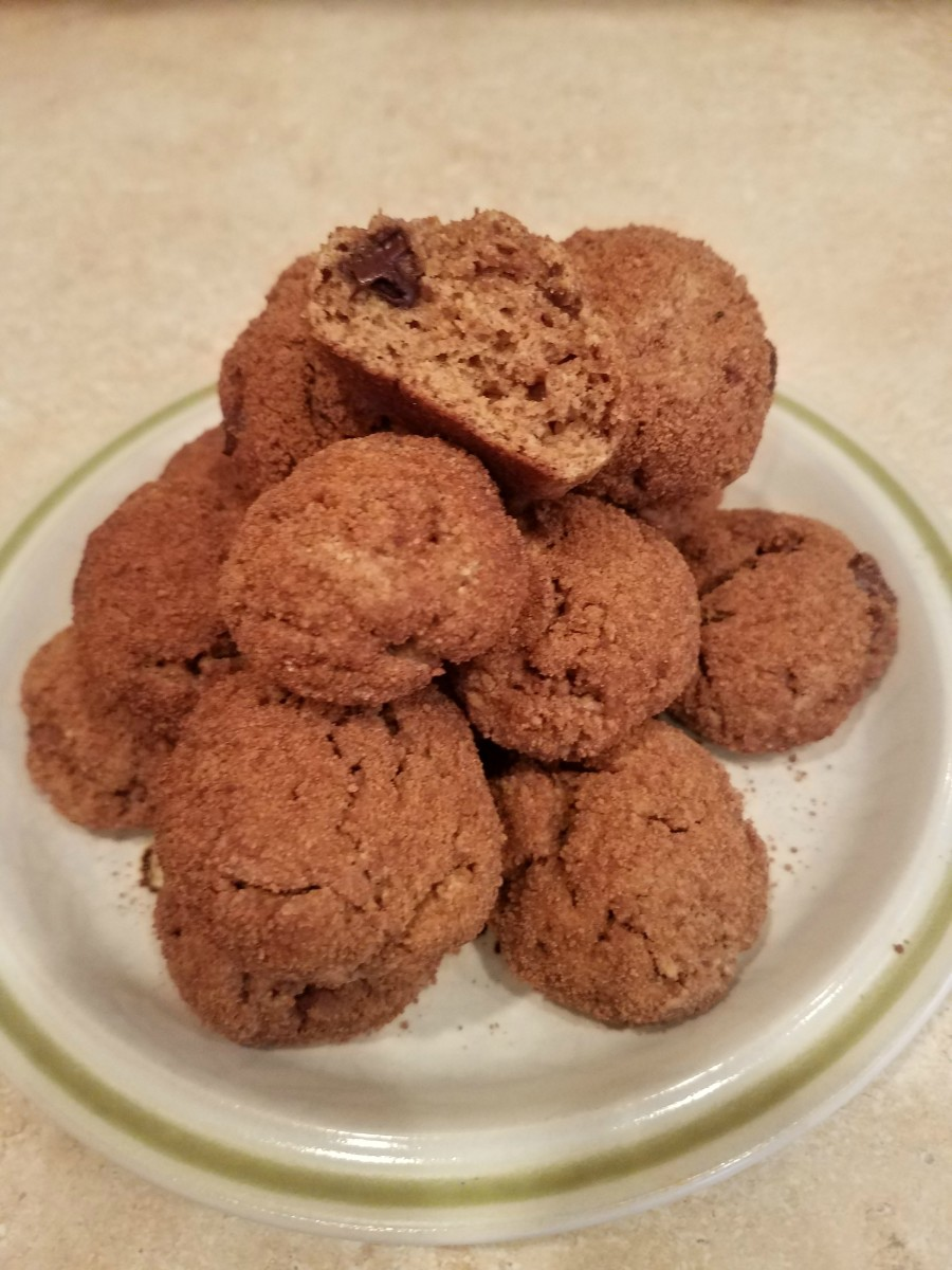 Clean Chocolate Chip Snickerdoodles
