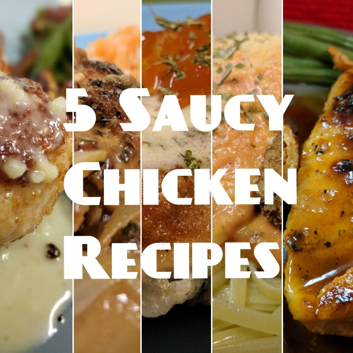 Recipe RoundUp: Five 30-Minute, Saucy Chicken Dinner Recipes With Sides