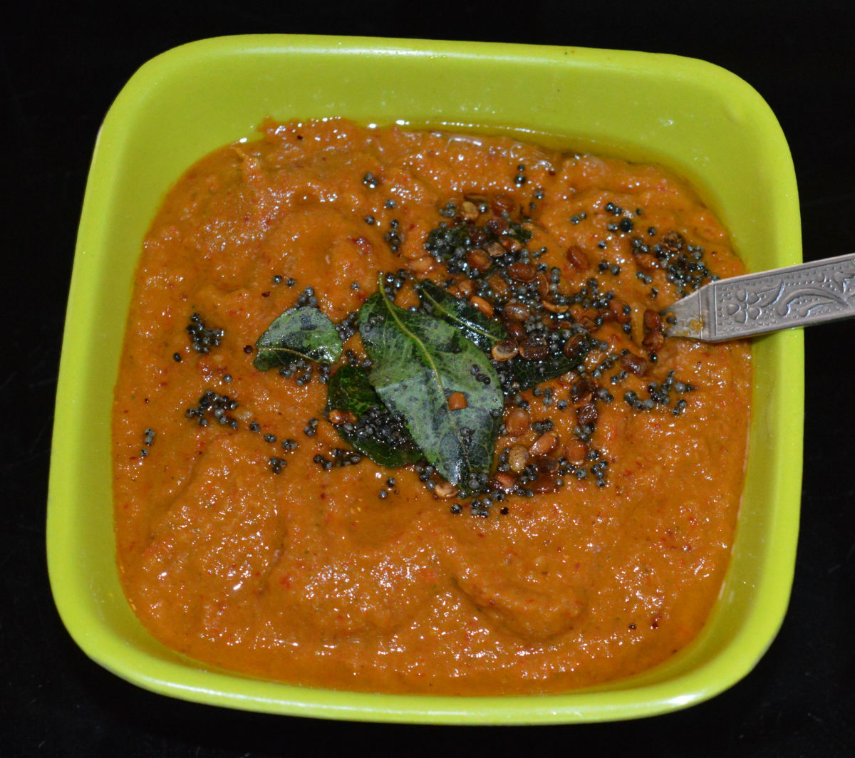 Tomato Onion Chutney for Dosa and Idli