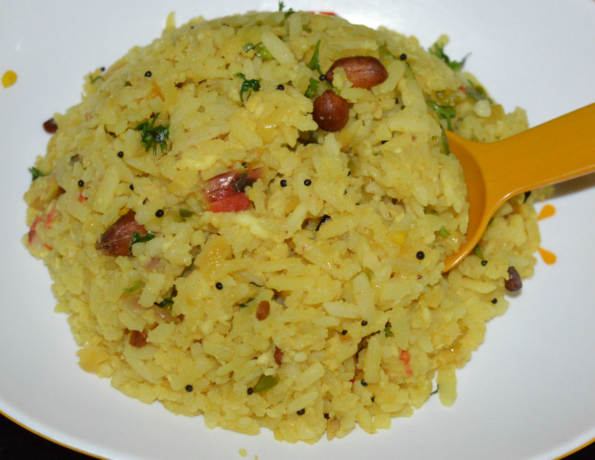 How to Make Beaten Rice Upma (Poha Upma)