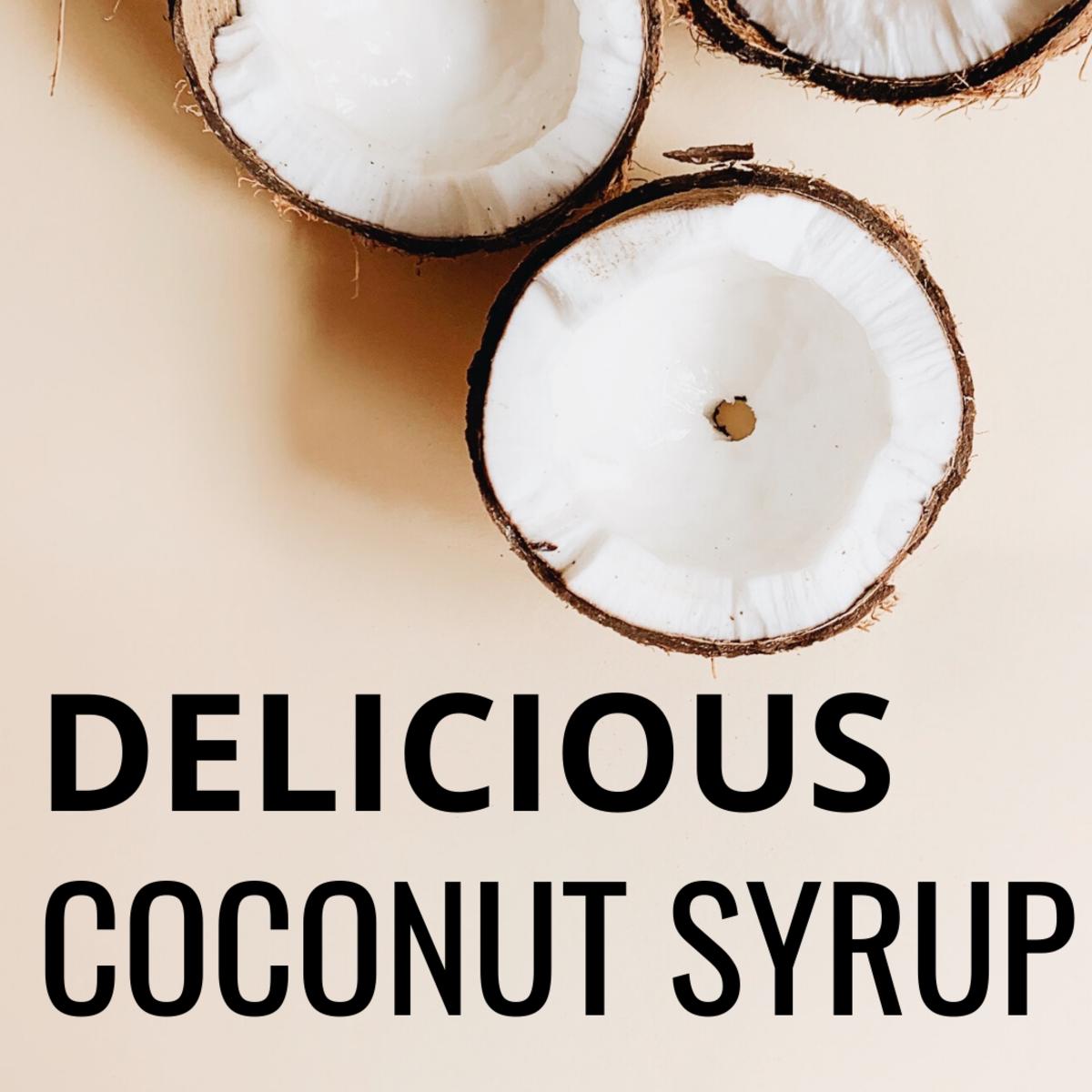 Delicious Coconut Syrup Recipe