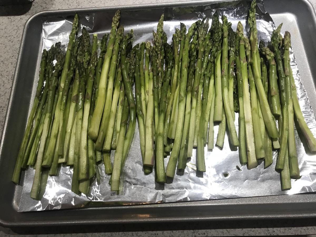 Shaved Asparagus Recipe