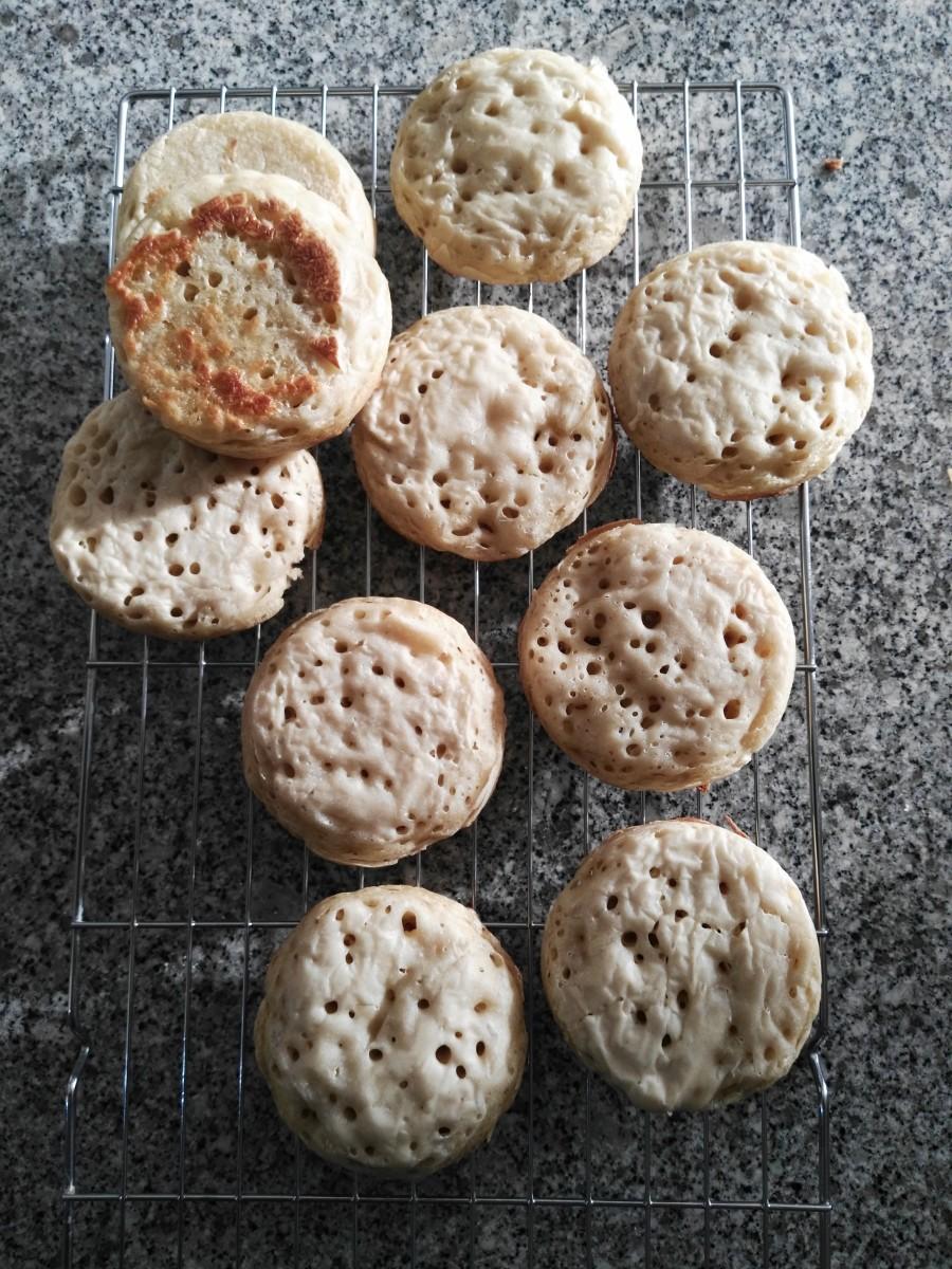 English Crumpet Recipe