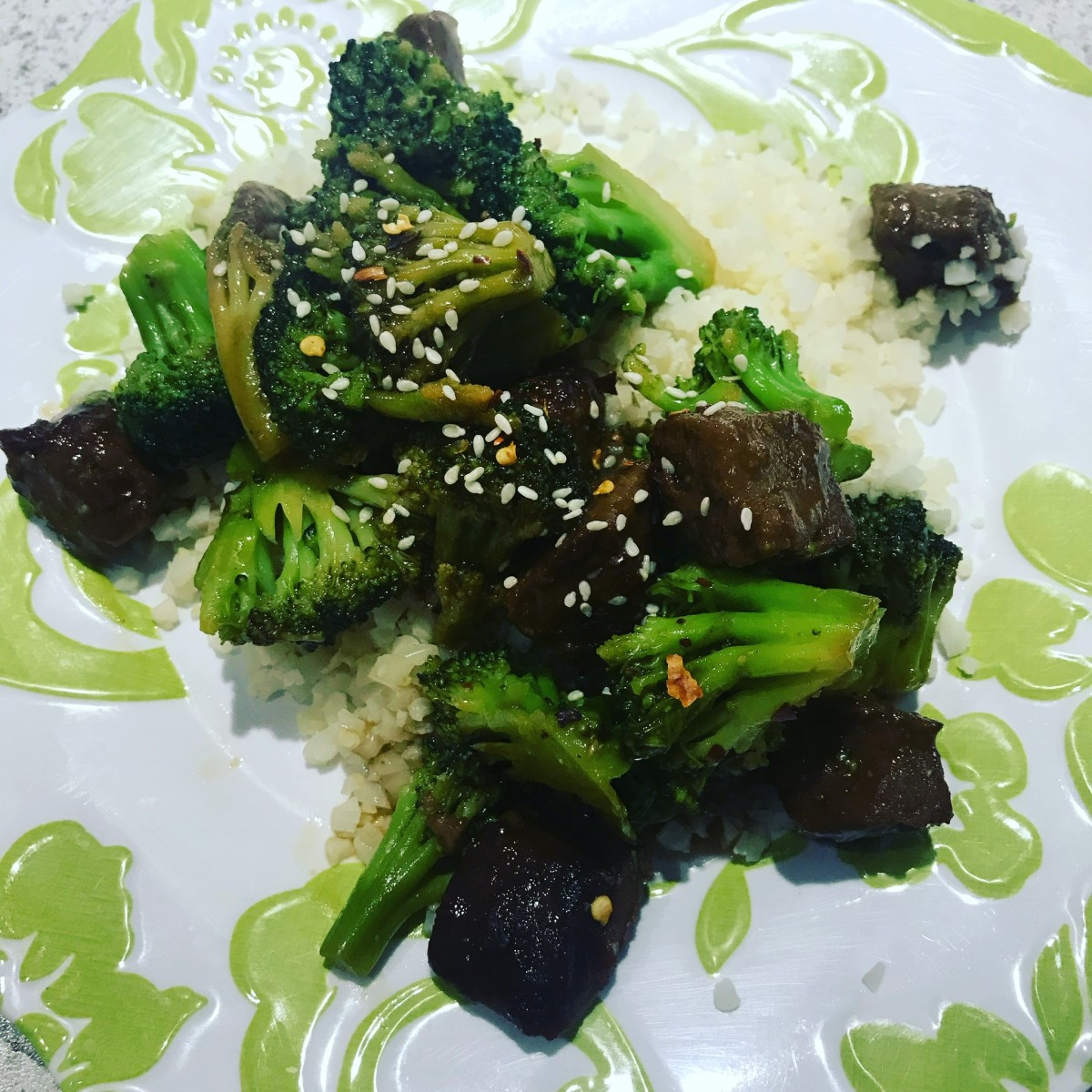 Vegetarian Beef and Broccoli