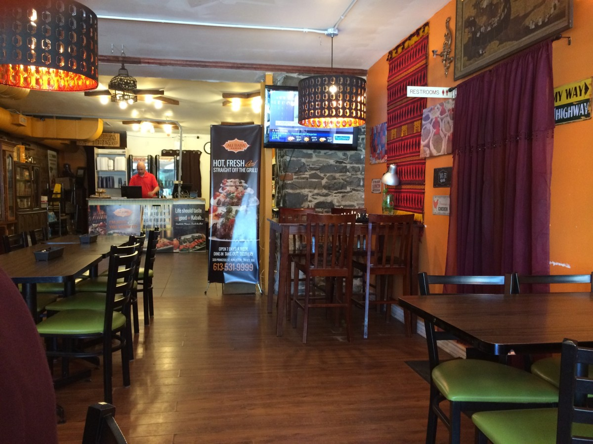 A Review of Alibaba Kabab Restaurant in Kingston, Ontario