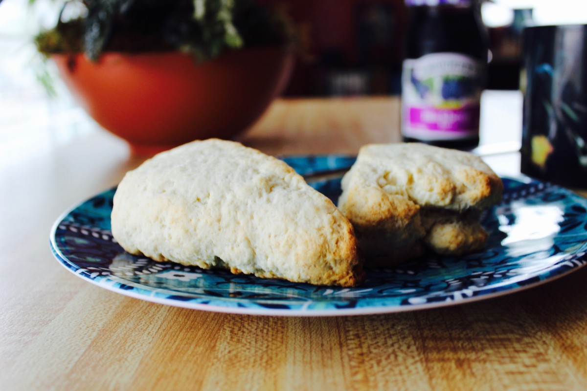 Nothing beats homemade scones paired with your favorite jam.