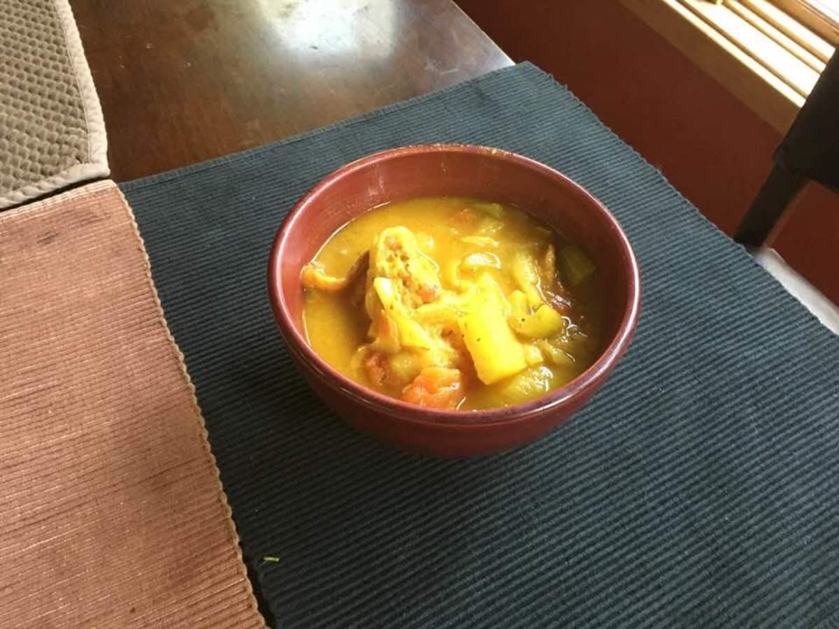 French Chicken Bouillabaisse Recipe
