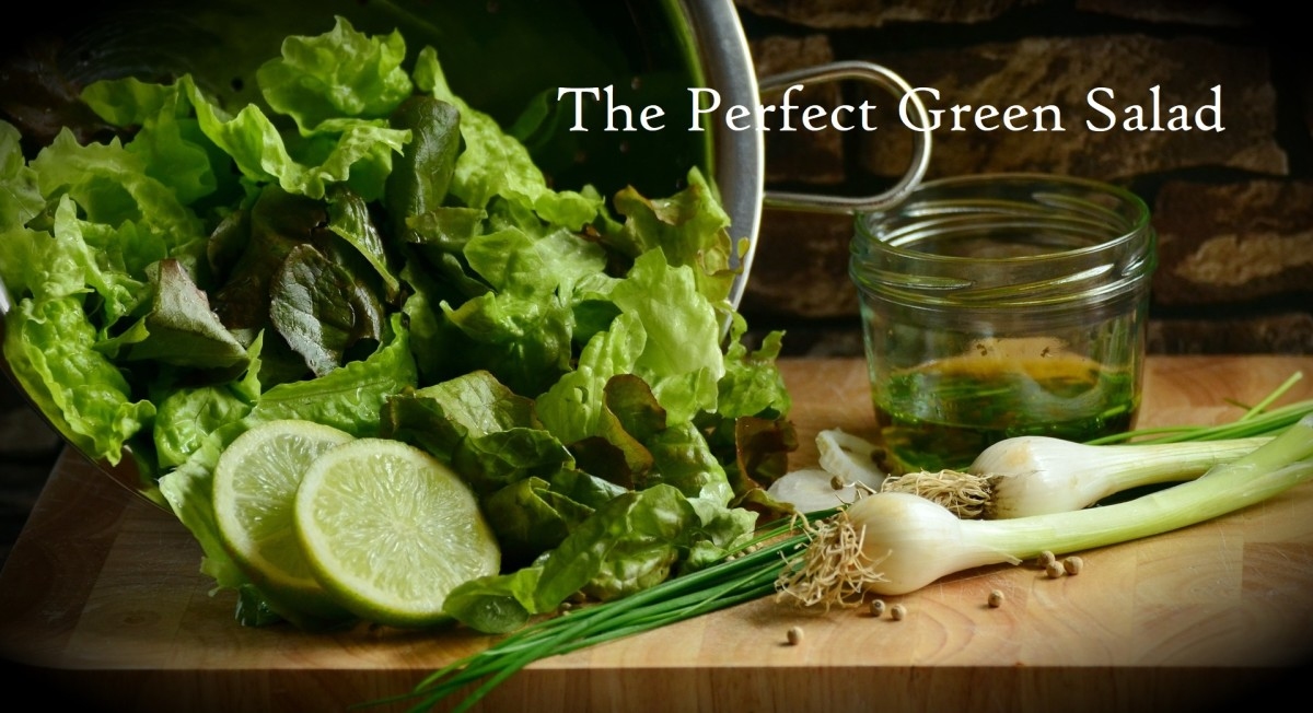 The Perfect Green Salad