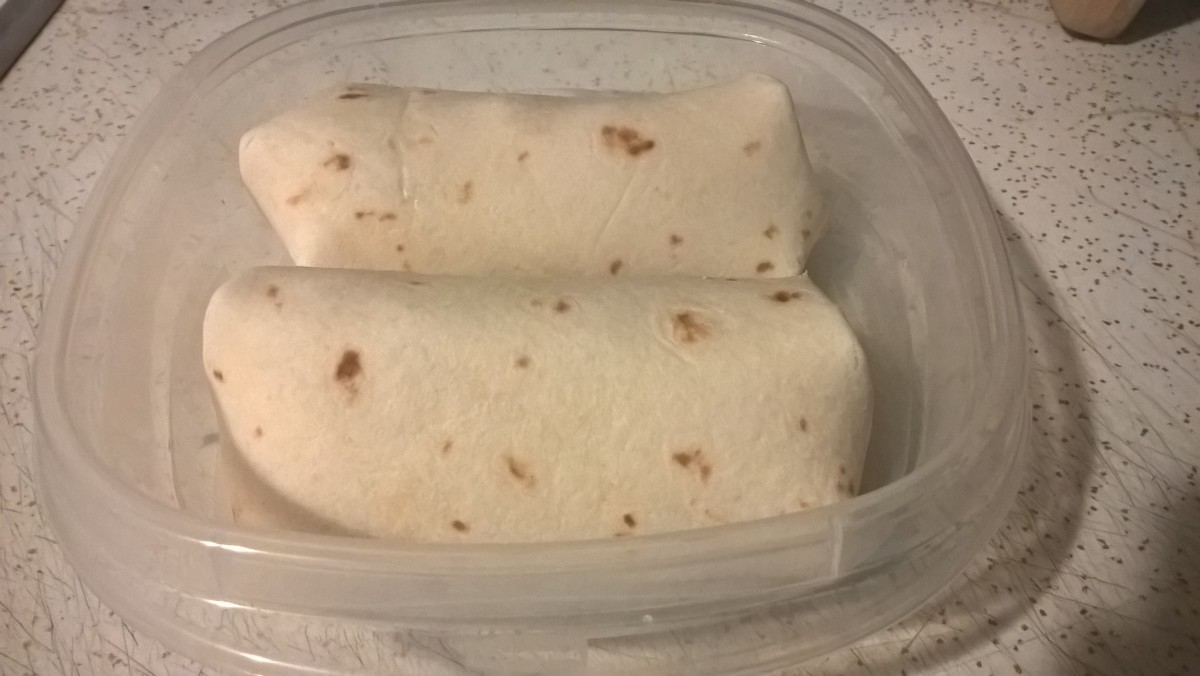 Two Ways to Make a Cold Chicken Wrap