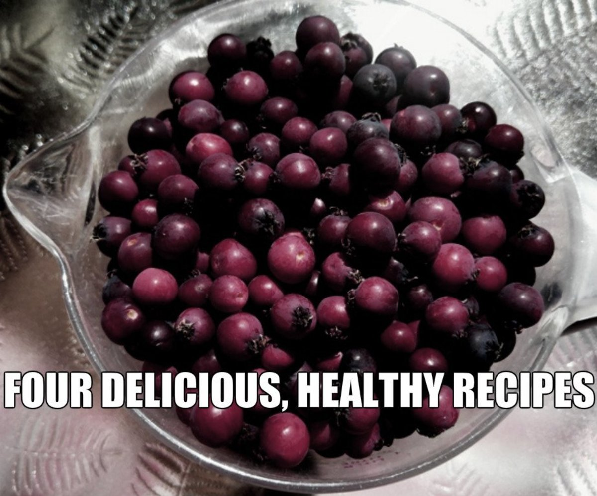 Beautiful, hardy, delicious, healthy, prolific-- a superfood is the Saskatoon Berry!