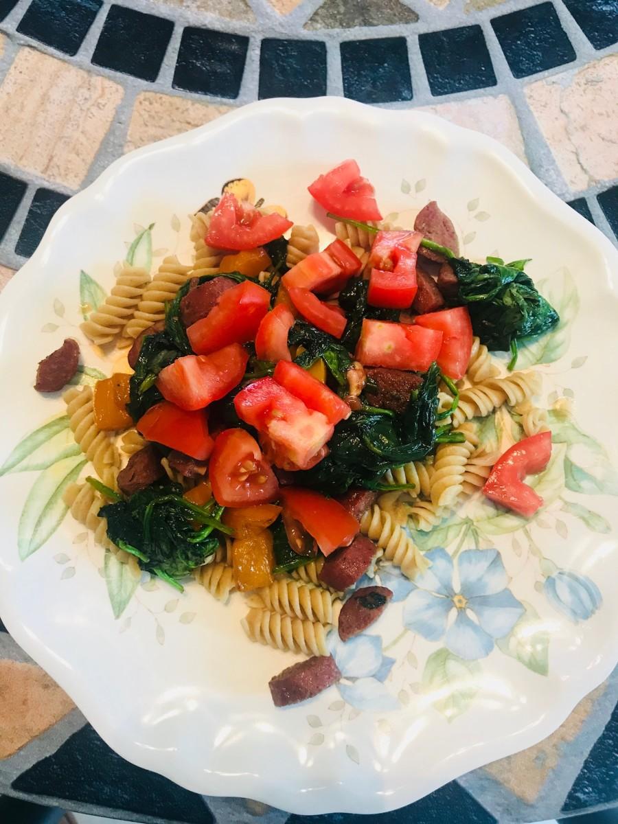Easy Pasta With Sausage and Veggies Recipe