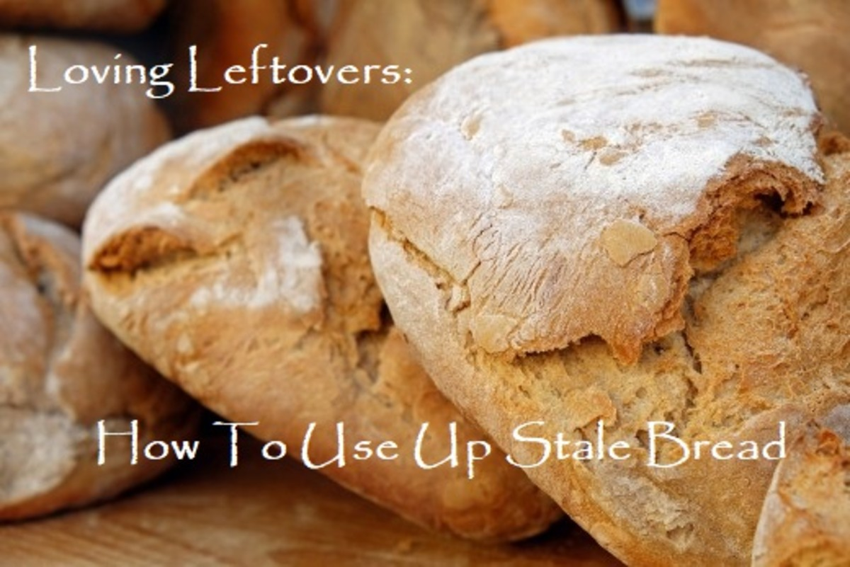 Loving Leftovers: How to Use Up Stale Bread