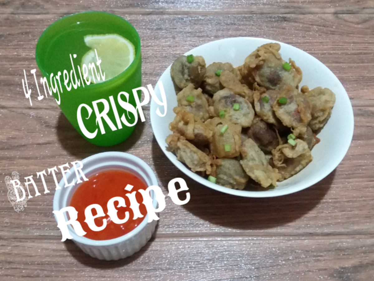 A Four-Ingredient Crispy Batter Recipe for Anything and Everything