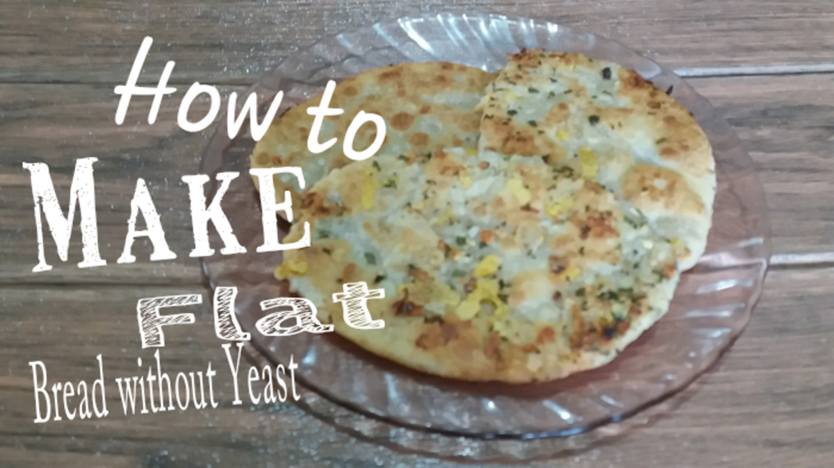 how to make flatbread no yeast