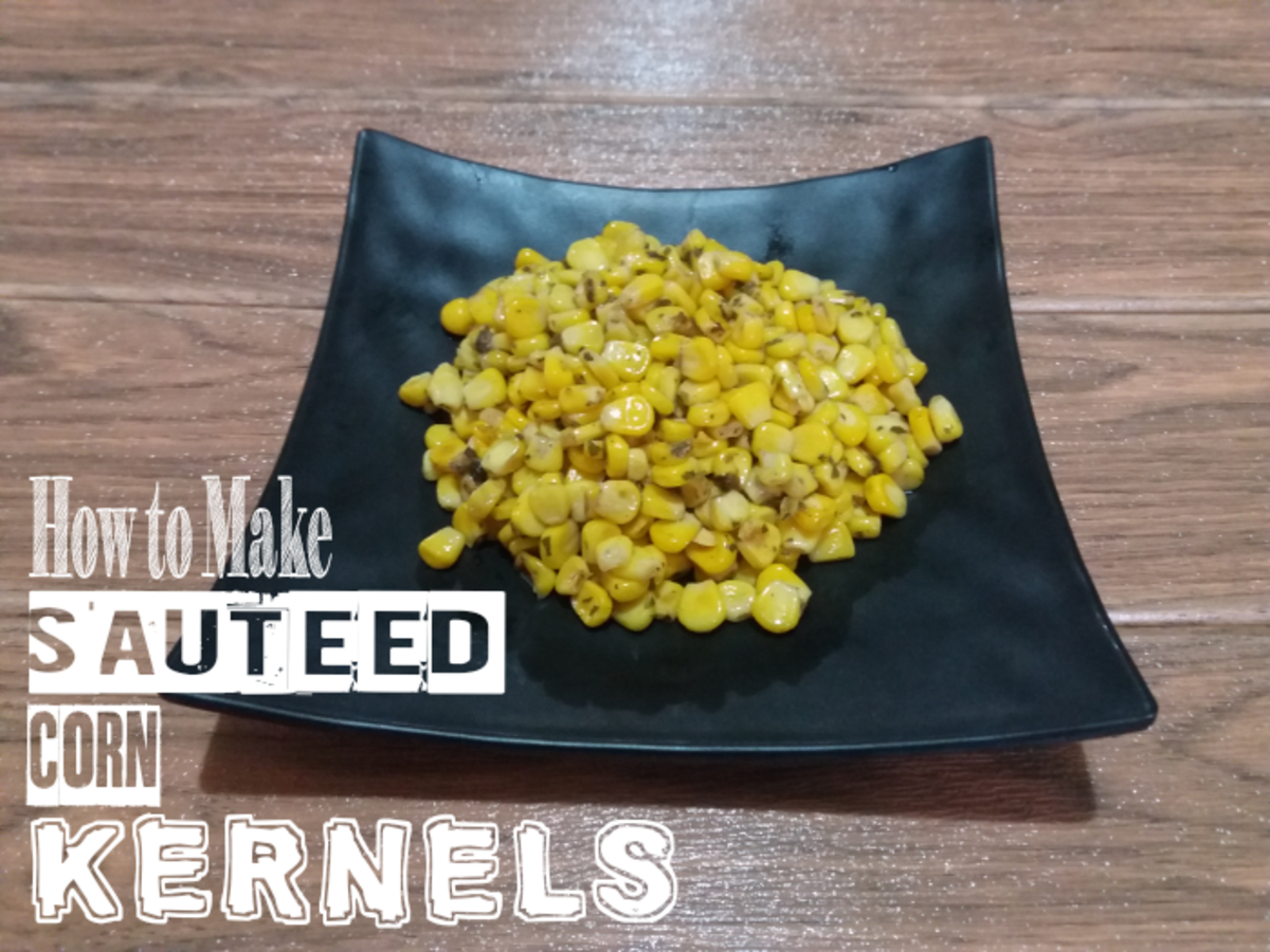 How to Make Sauteed Corn Kernels