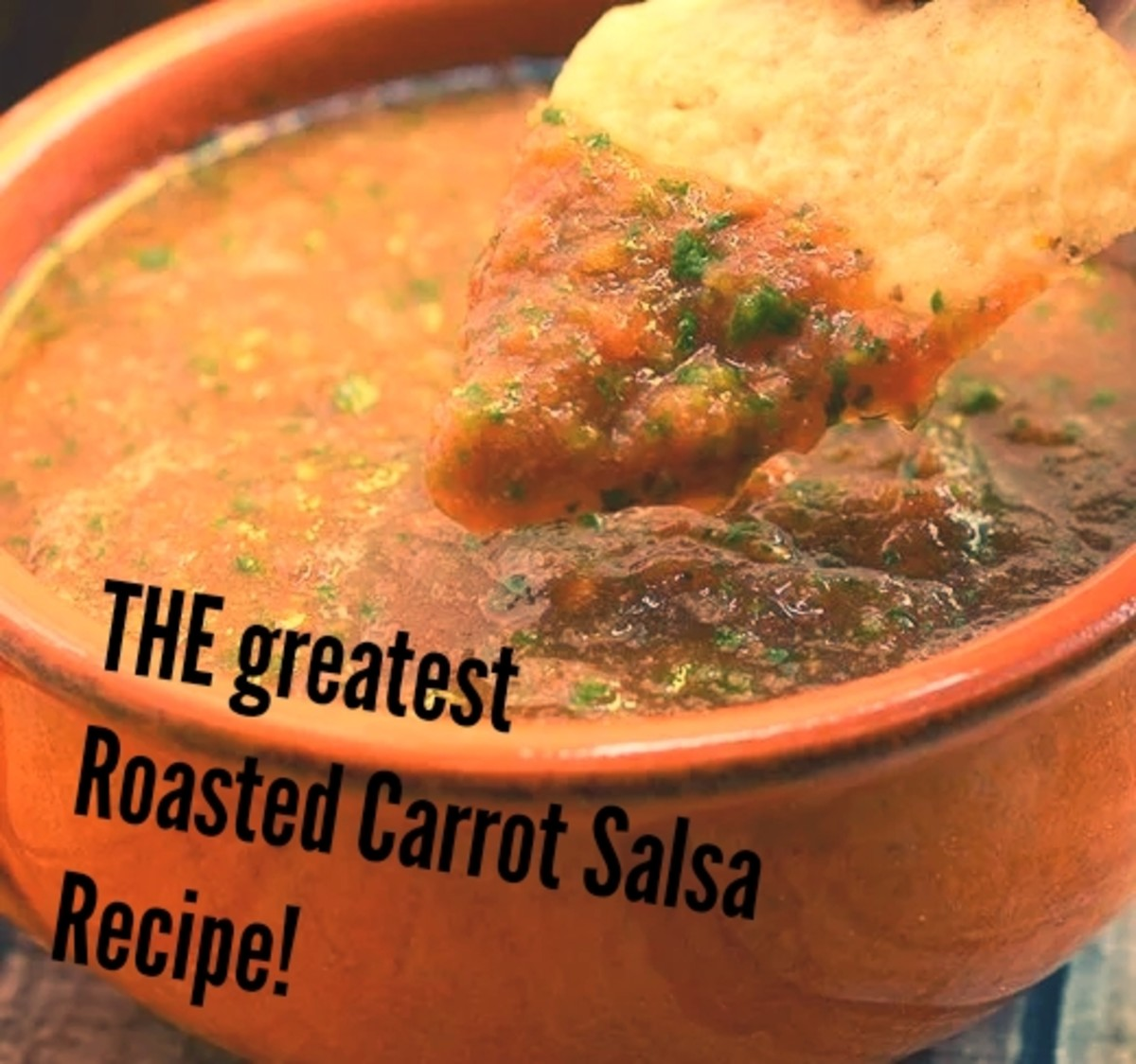 How to Make the Best Homemade  Roasted Carrot Salsa (Recipe)