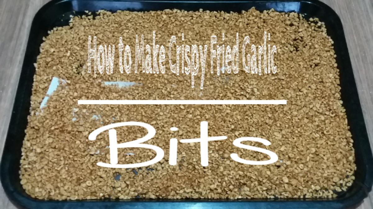 How to Make Crispy Fried Garlic Bits