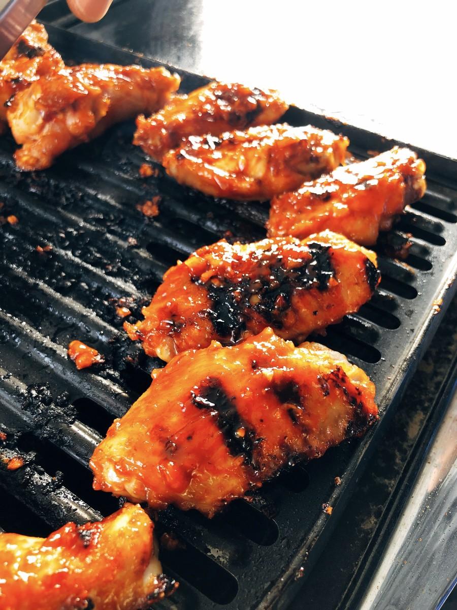 Korean-Inspired Spicy Chicken