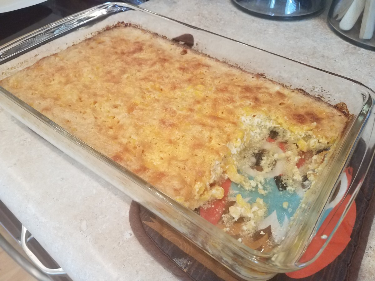 This corn casserole is one of my all-time favorites.