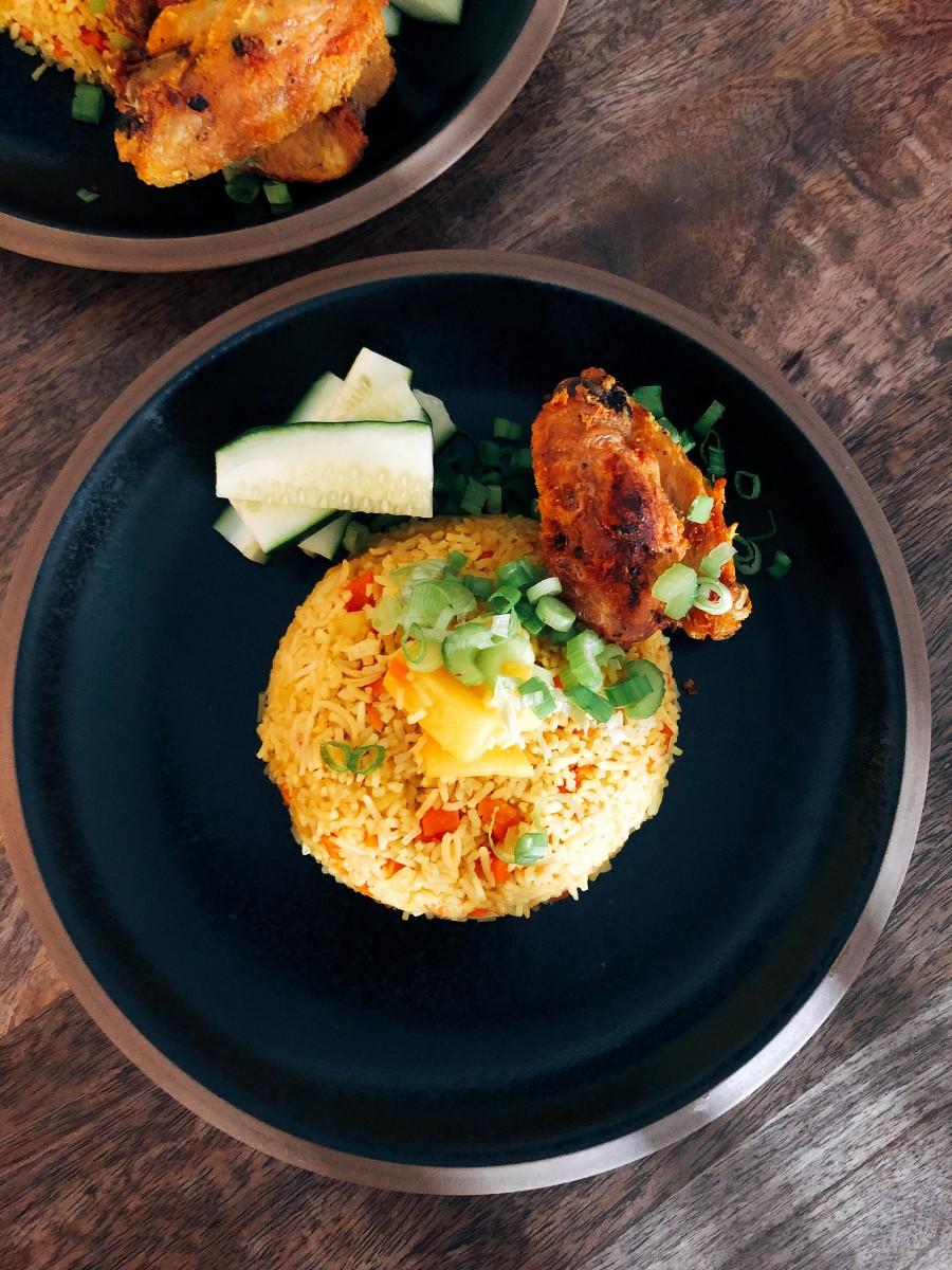 Thai-Inspired Pineapple Fried Rice