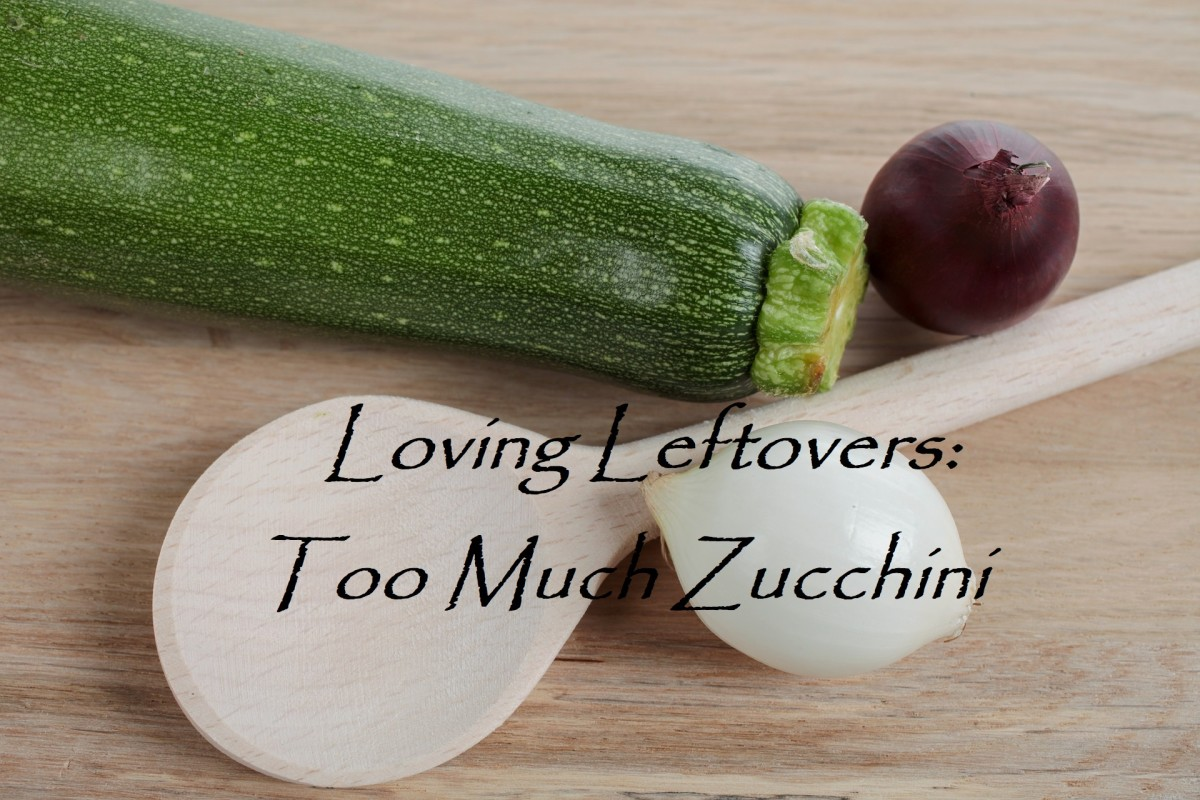 Loving Leftovers: Too Much Zucchini