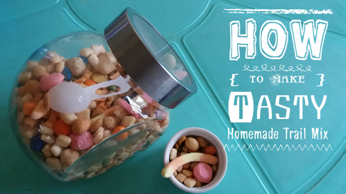 Tasty Homemade Trail Mix