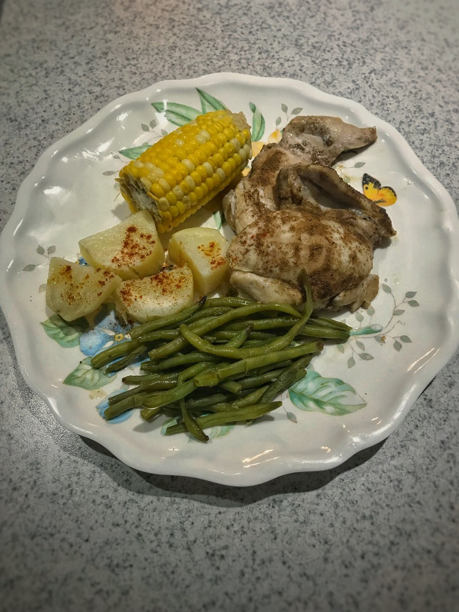 Easy Foil Packet Chicken Dinner Recipe