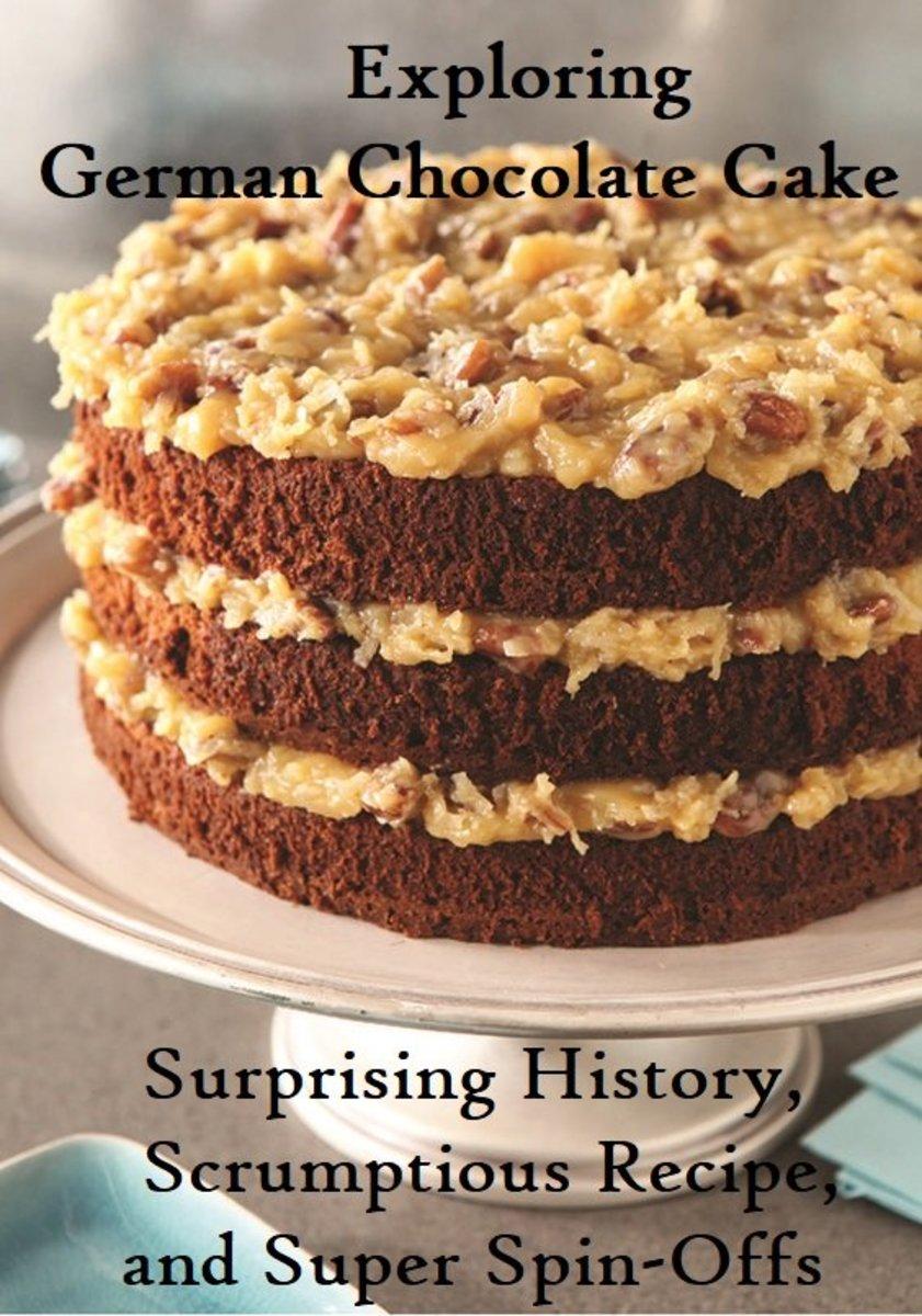 Recipe for homemade german chocolate cake icing