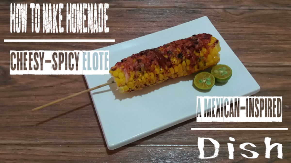 You can make a cheesy-spicy elote (a Mexican-inspired dish) at home with this easy recipe.