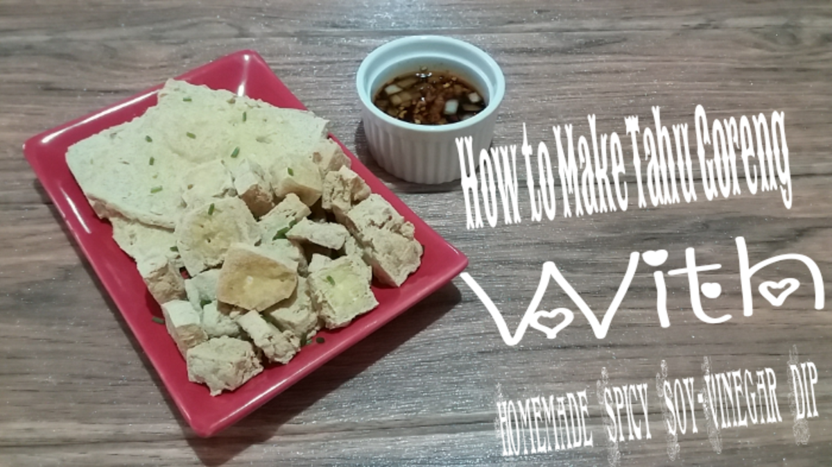 How to Make Tahu Goreng With Homemade Spicy Soy-Vinegar Dip