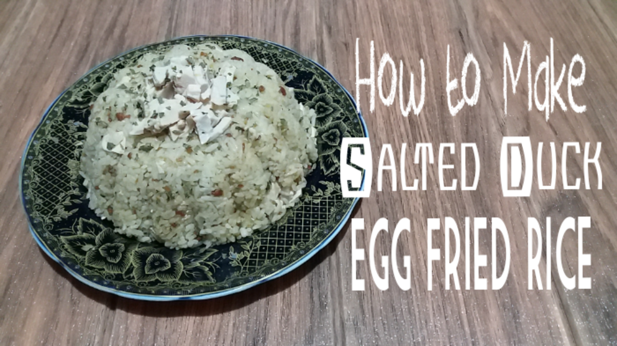 How to Make Salted Duck Egg Fried Rice