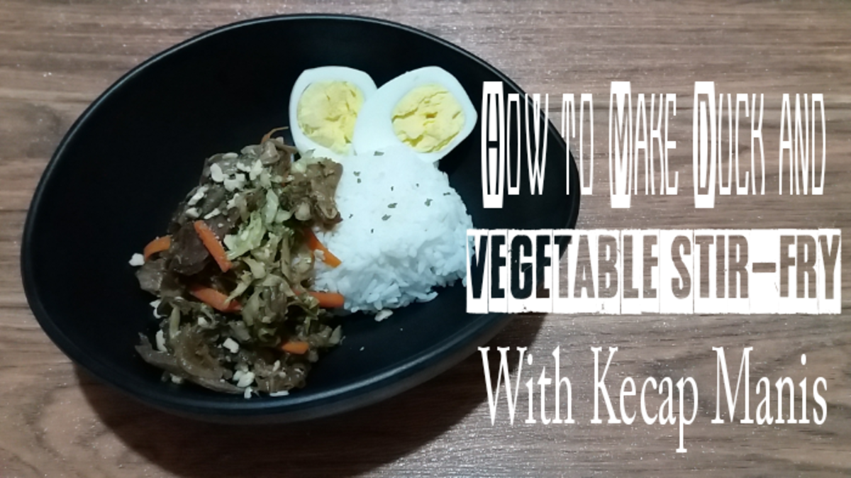 How to Make Duck and Vegetable Stir-Fry With Kecap Manis