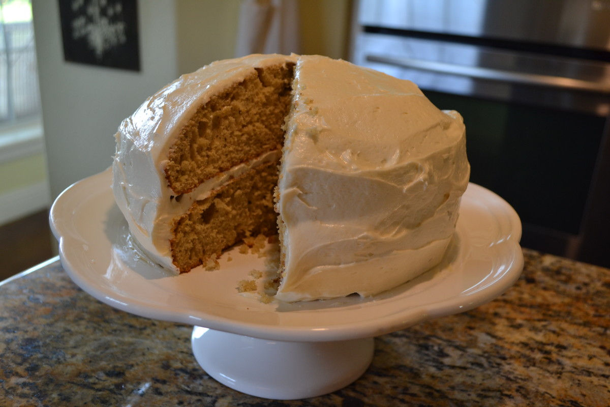 Easy Yellow or White Cake Mix Spice Cake Recipe