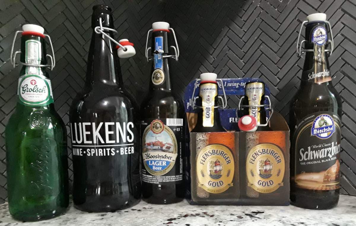 Beverages That Use Flip-Top Bottles for Brewing Beer and Kombucha