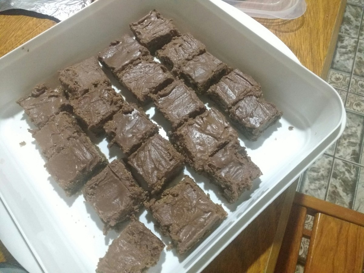These bake sale brownies are simple and cheap to make, but that doesn't stop them from being delicious!