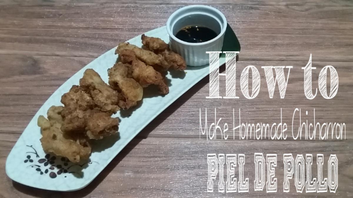 Discover how to make homemade chicharrón piel de pollo.