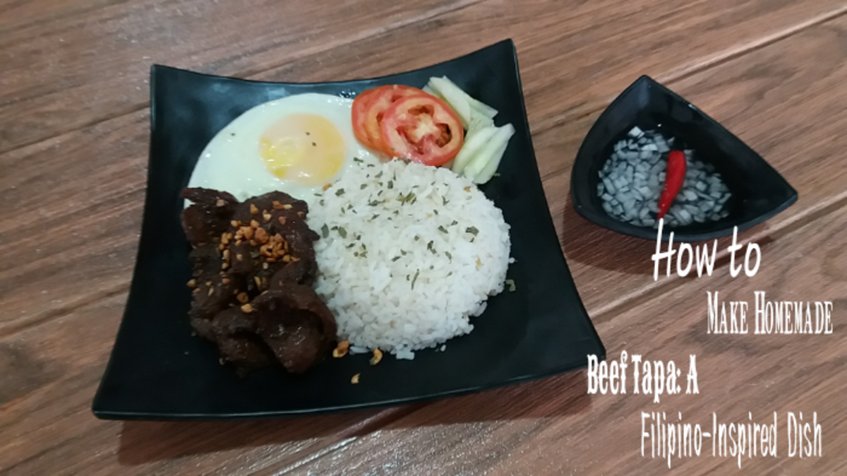 How to make homemade beef tapa, a Filipino-inspired dish