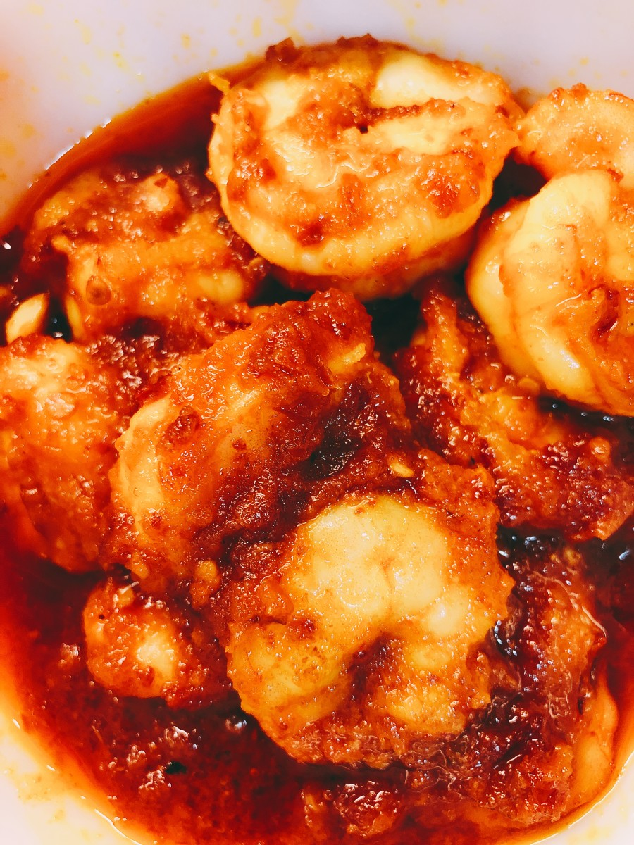 Sambal Udang (Spicy Shrimp)