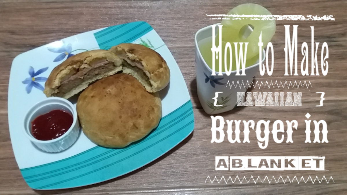 How to Make a Hawaiian Burger in a Blanket