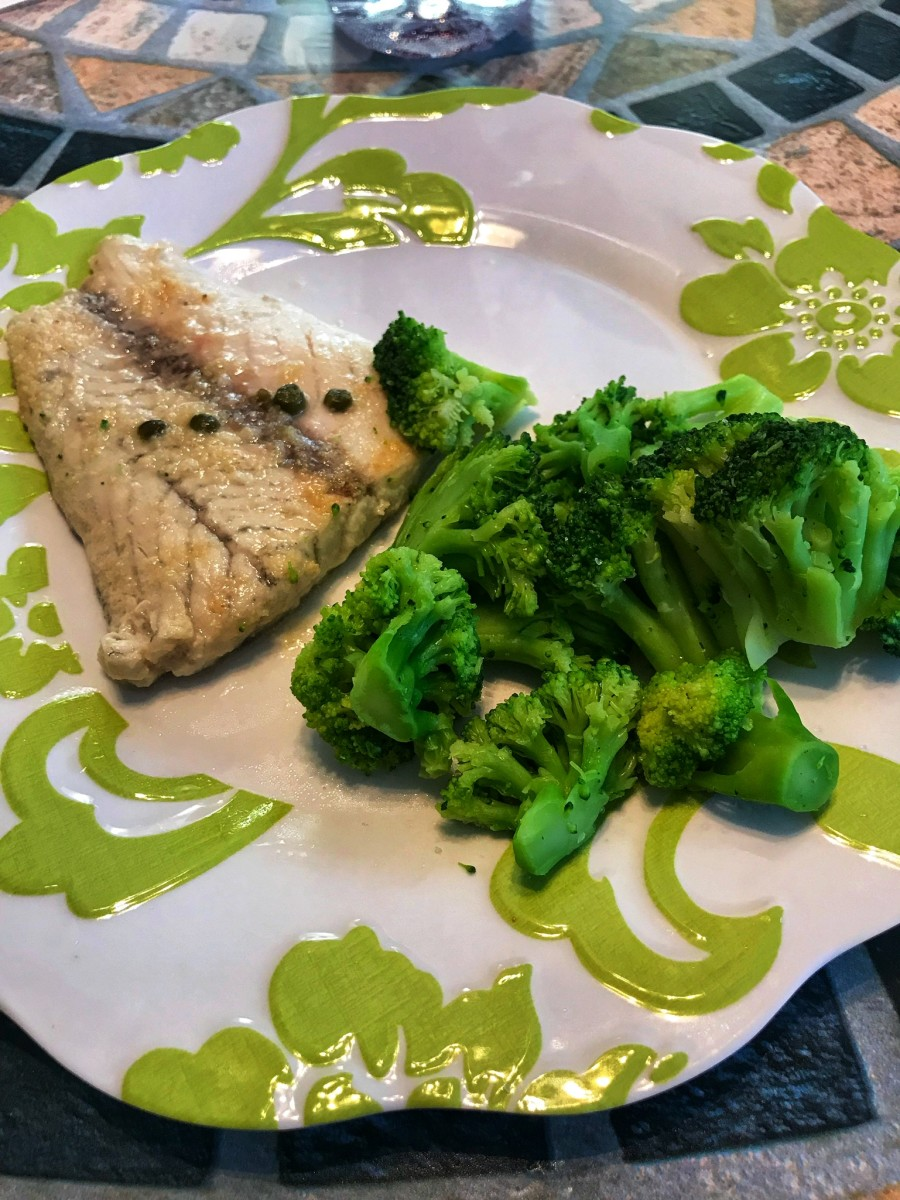 Lemon Caper Fish (21 Day Fix Approved)