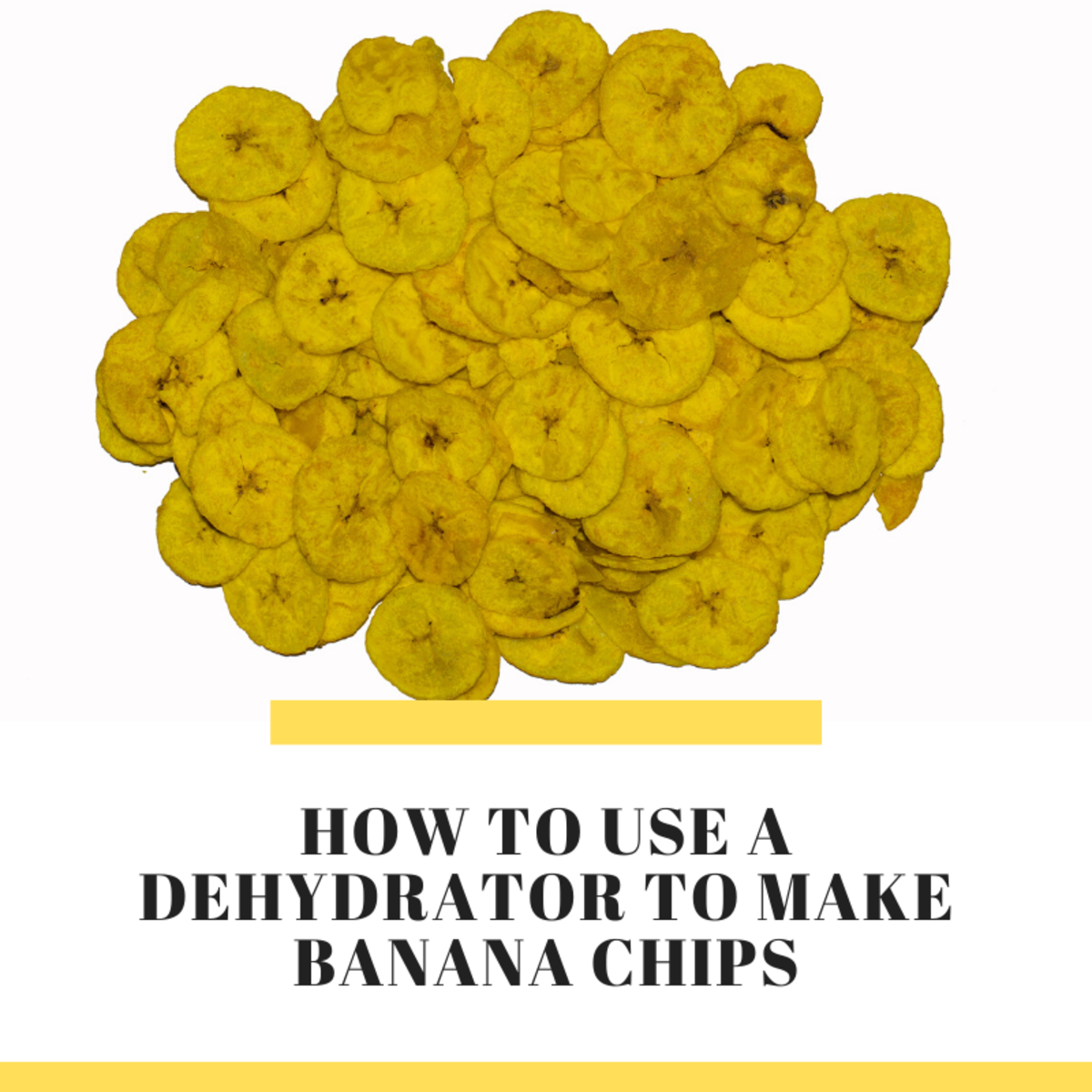 Tips for Using a Dehydrator & Banana Chip Recipe