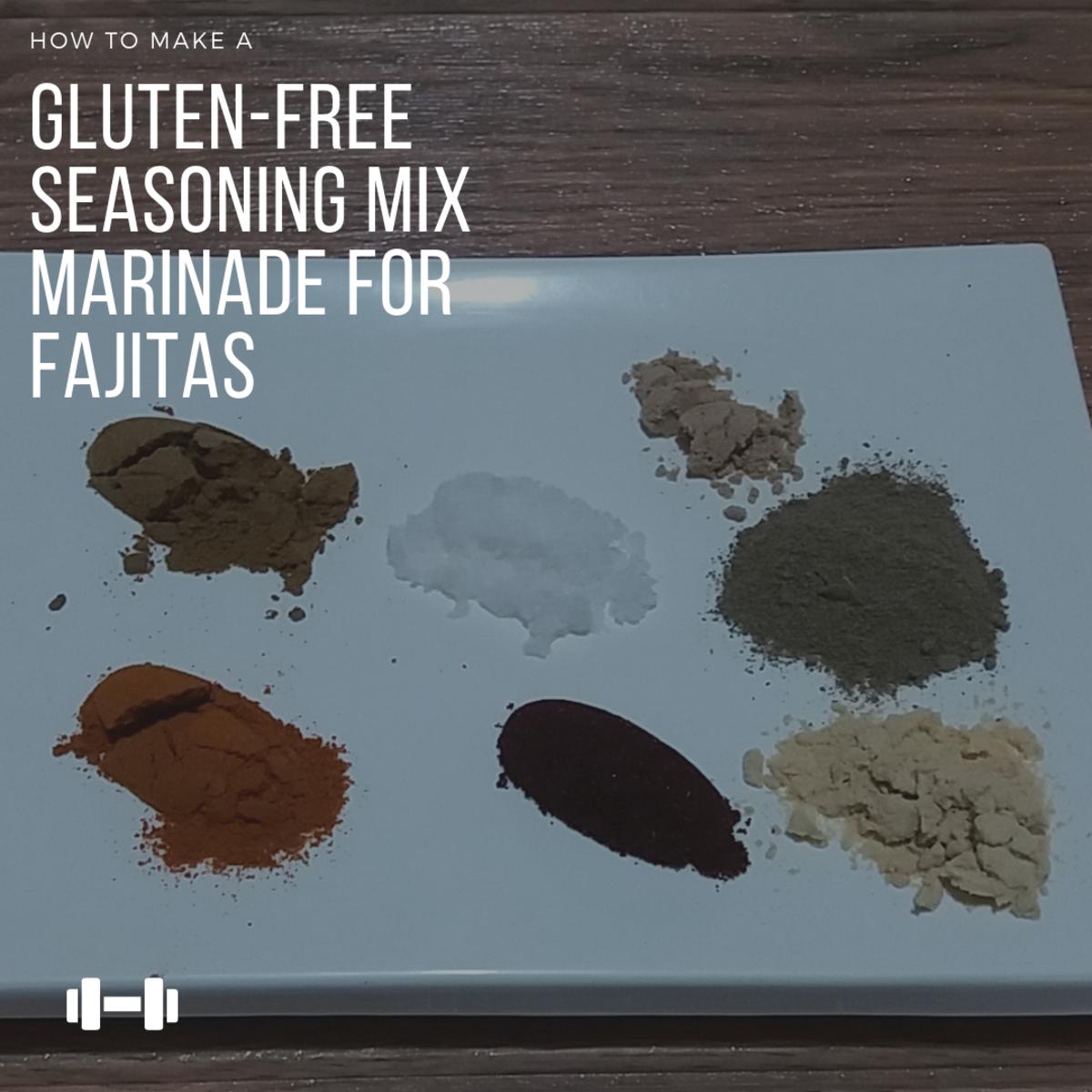 How to Make a Gluten-Free Seasoning Mix Marinade for Fajitas