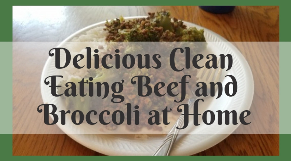 Clean Eating Beef and Broccoli (Using Hamburger Instead of Steak)