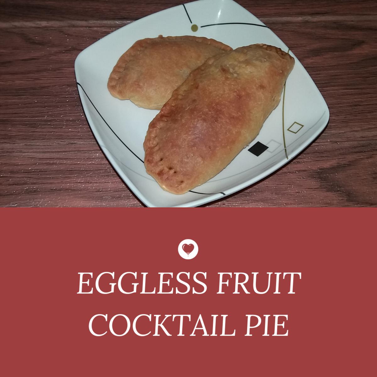 Egg-Free Fruit Cocktail Pie
