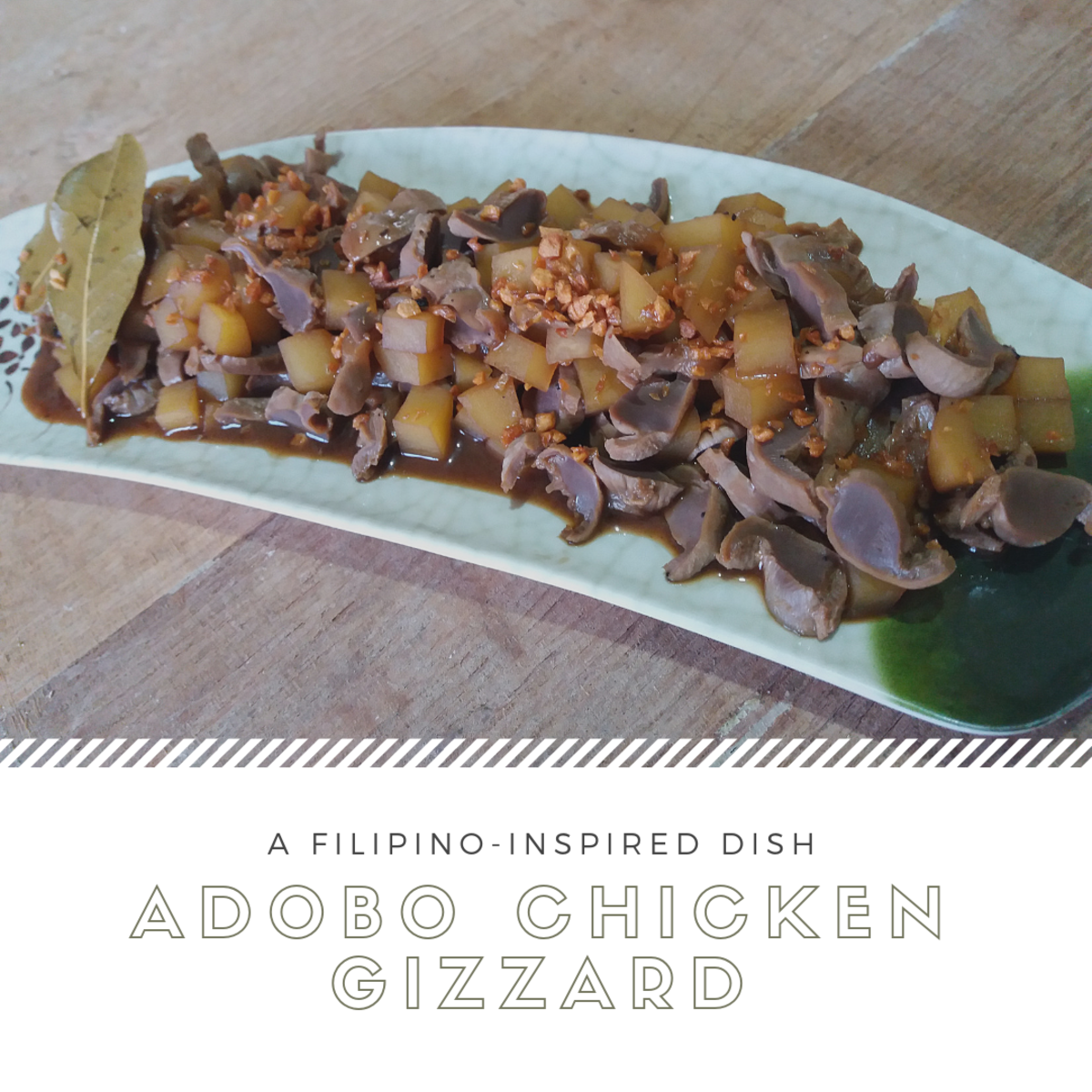 adobo chicken gizzard recipe