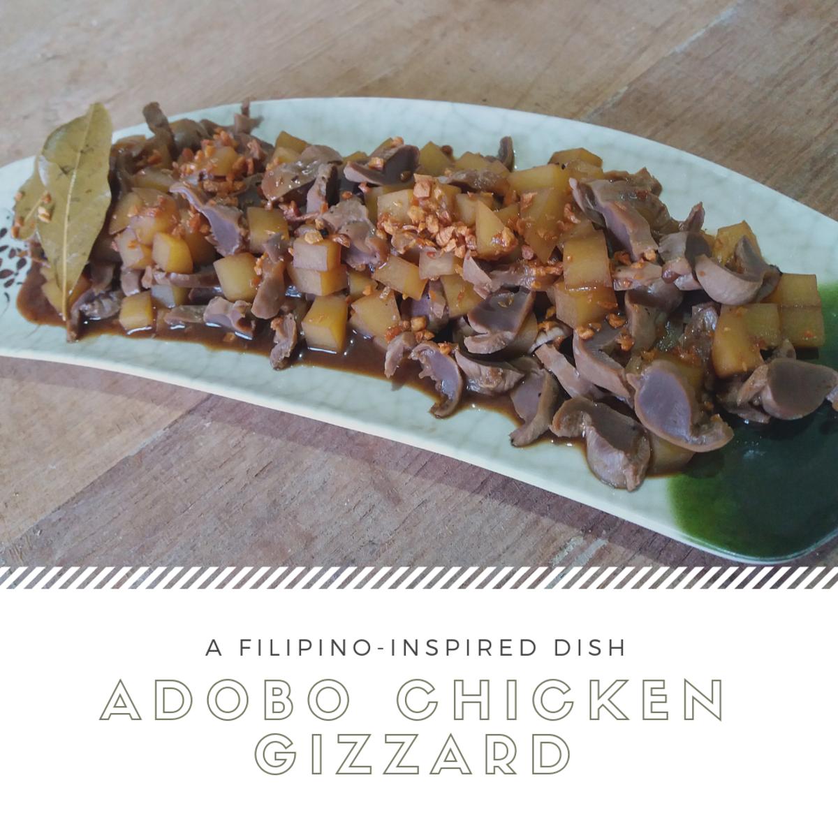 Chicken Gizzard Adobo: A Filipino-Inspired Recipe