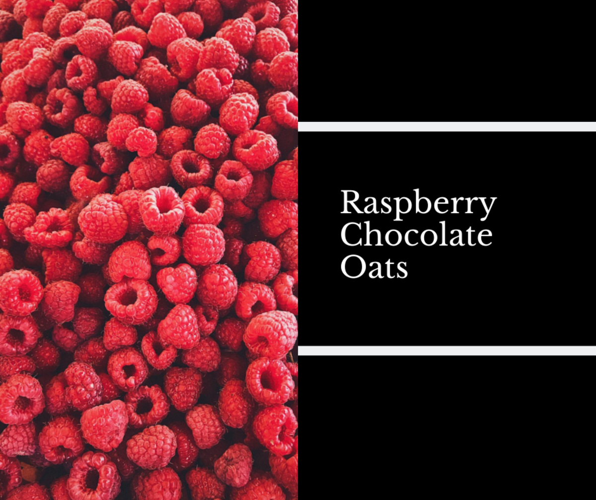 This raspberry recipe makes for a great snack!
