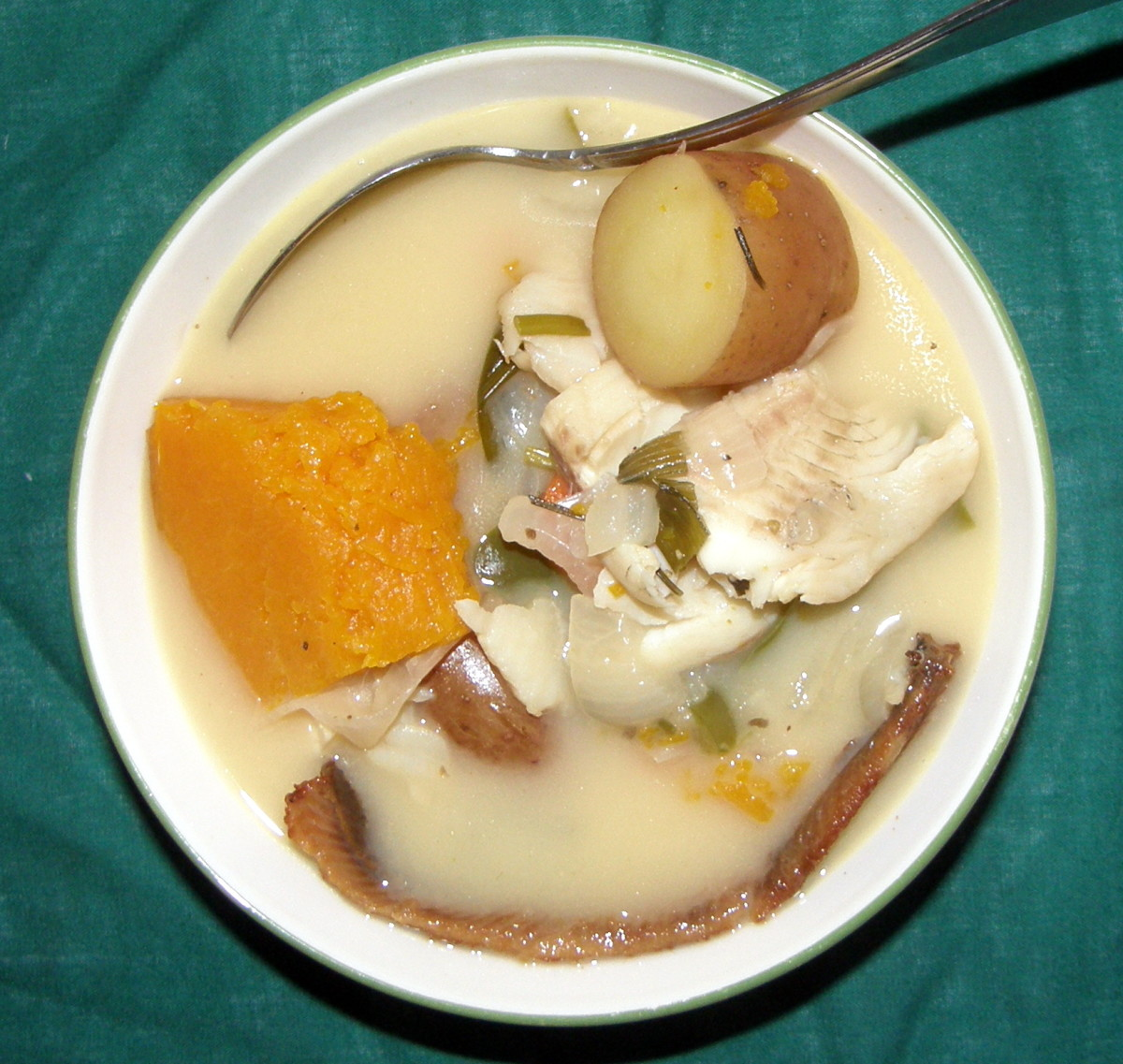 In my native Jamaica, fish tea is typically a summertime soup—although I enjoy it at all times of the year.