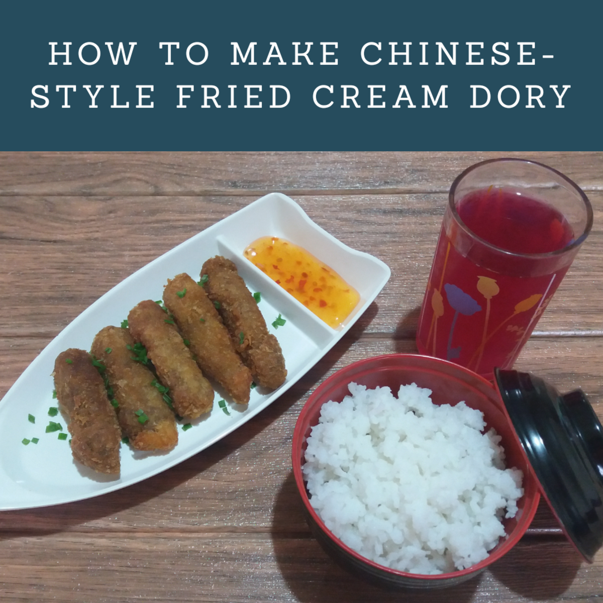 how to make Chinese-style fried cream dory